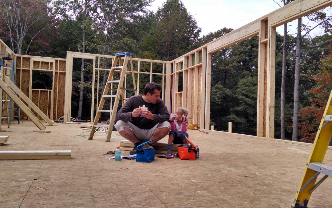 CASE STUDY HOUSE #1.12: Wall construction